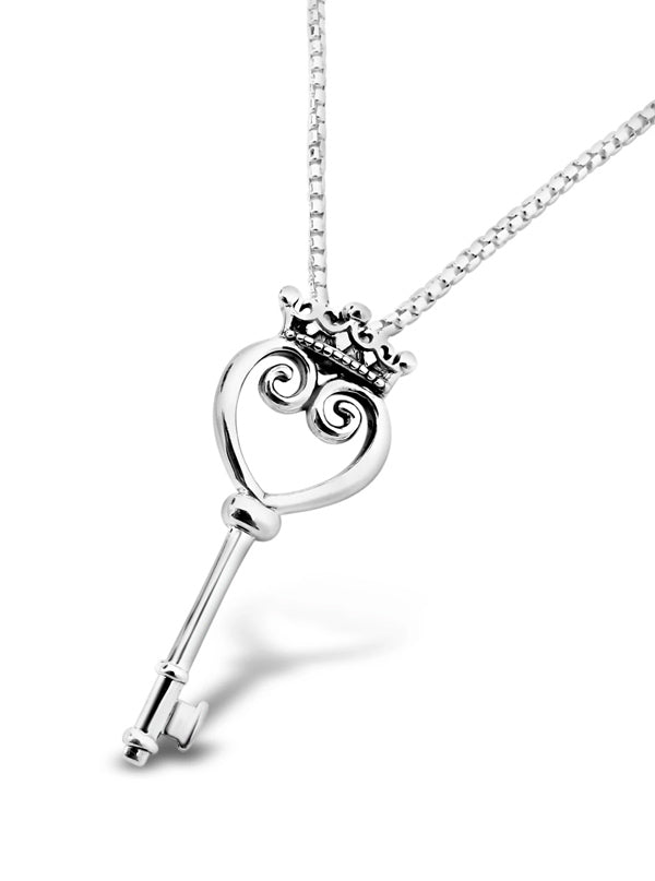 Queen of Hearts Key Pendant by Cristy Cali