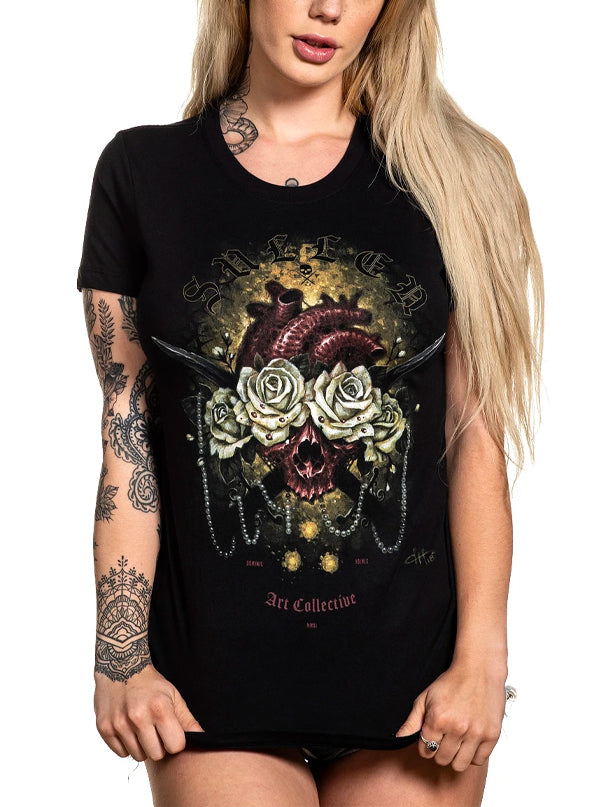 Women's Heart Beat Tee by Sullen