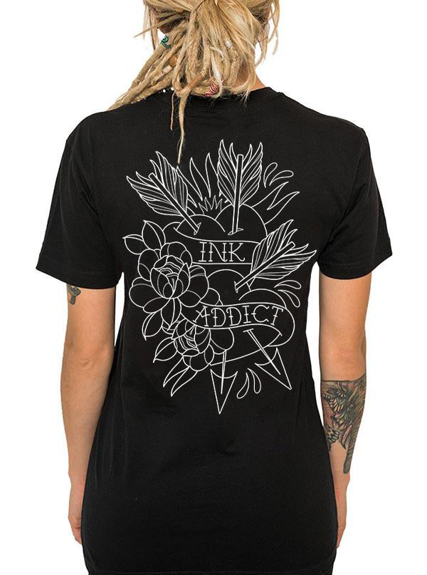Unisex Campbell's Heart Tee by InkAddict