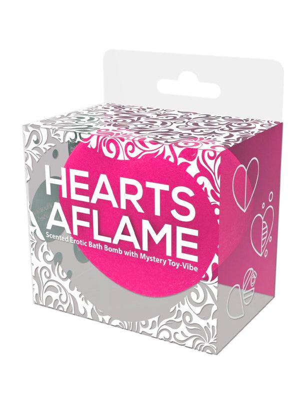 Hearts Aflame Surprise Bath Bomb
