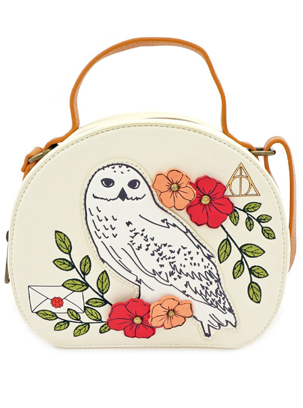 Harry Potter: Creatures Floral Crossbody Bag by Loungefly