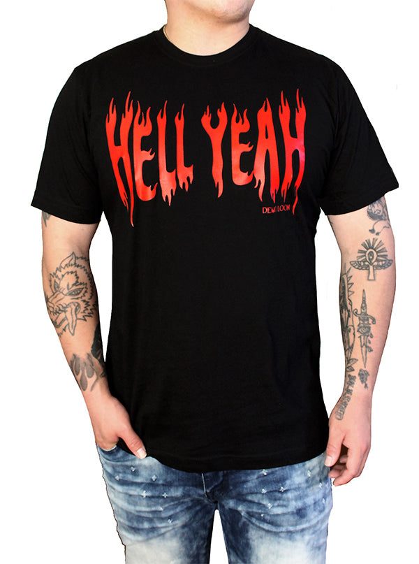 Men's Hell Yeah Tee by Demi Loon