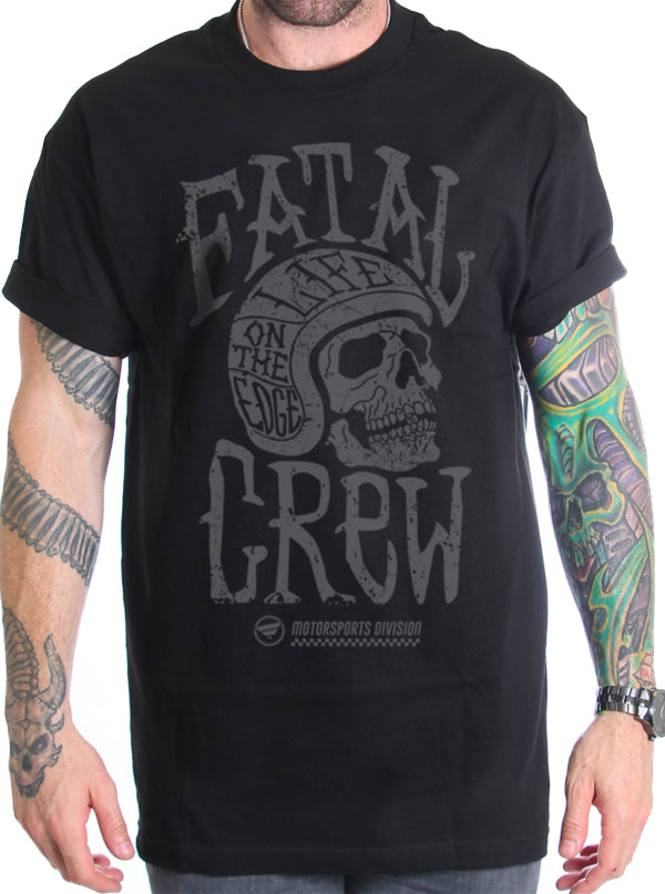 Men's Helmet Tee by Fatal Clothing
