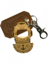 """Diving Helmet"" Bottle Opener & Key Ring by Trixie & Milo - www.inkedshop.com"