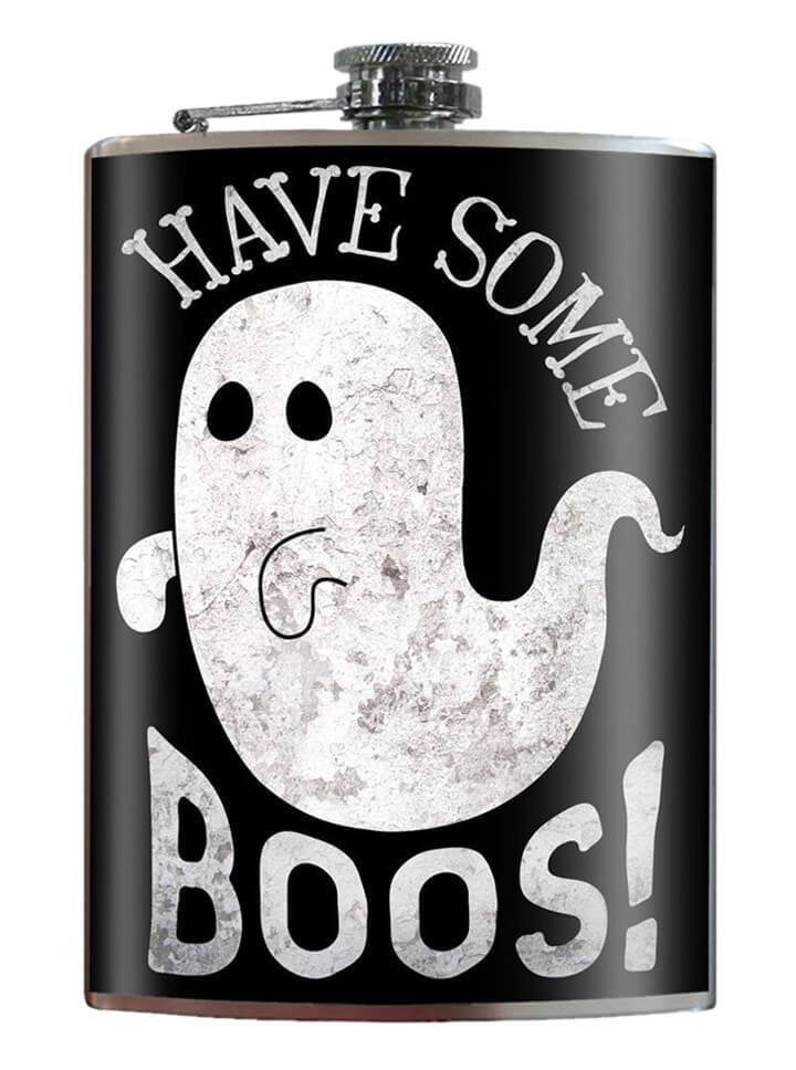 """Have Some Boos"" Flask by Trixie & Milo - www.inkedshop.com"