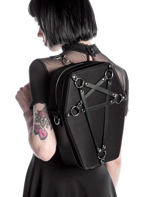 Hexellent Coffin Backpack by Killstar