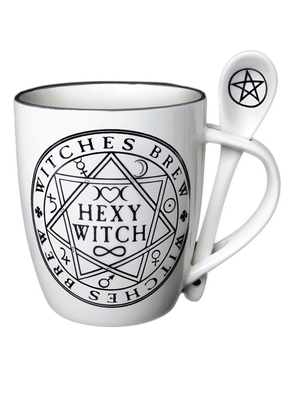Hexy Witch Mug Set by Alchemy of England