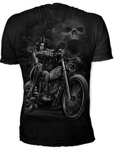 Men's Highway to Hell Tee by Lethal Threat