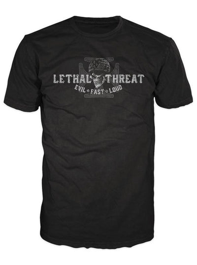 "Men's ""Highway to Hell"" Tee by Lethal Threat (Black)"