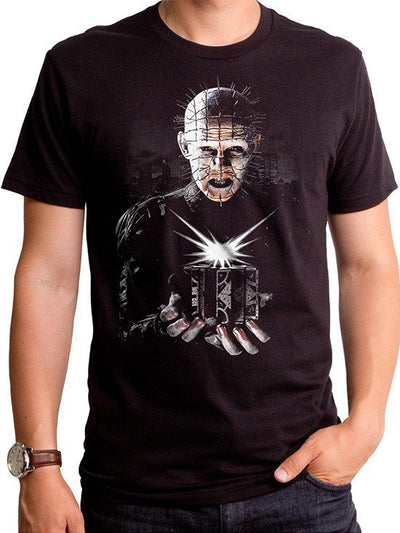 "Men's ""Pinhead Puzzle Box"" Tee by Goodie Two Sleeves (Black) - www.inkedshop.com"