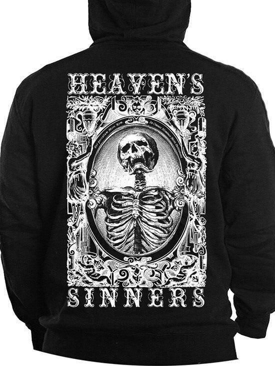"Men's ""Heaven's Sinners"" Zip Up by Se7en Deadly (Black) - www.inkedshop.com"