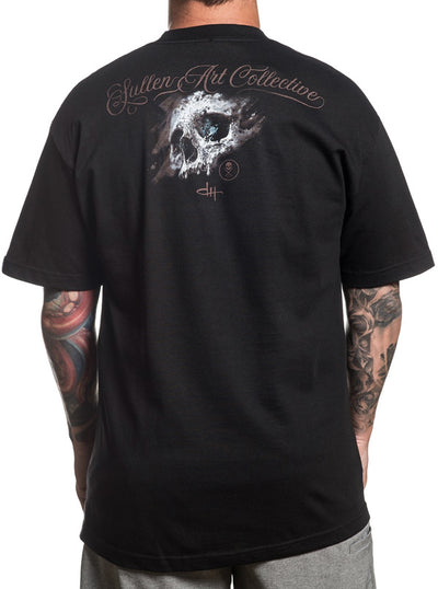 "Men's ""Holmes Skull"" Tee by Sullen (Black)"