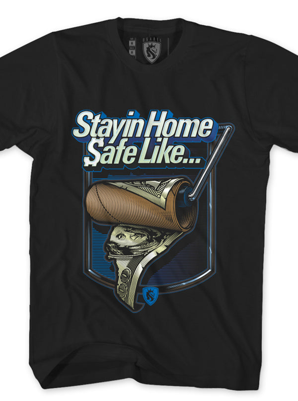 Men's Stayin' Home Tee by OG Abel