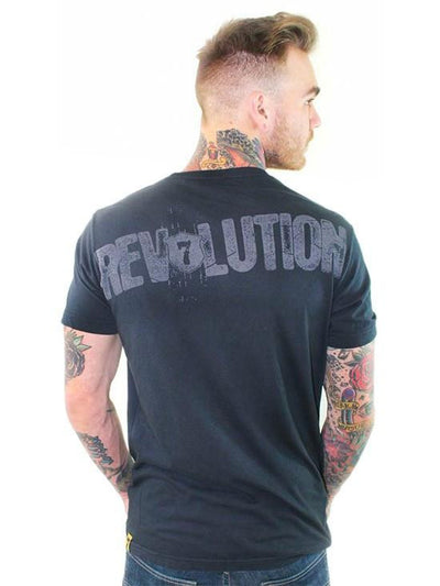 "Men's ""Honor Shield"" Tee by 7th Revolution (Black) - InkedShop - 3"
