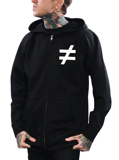 Men's Justice For $ome Zip Hoodie by Skygraphx
