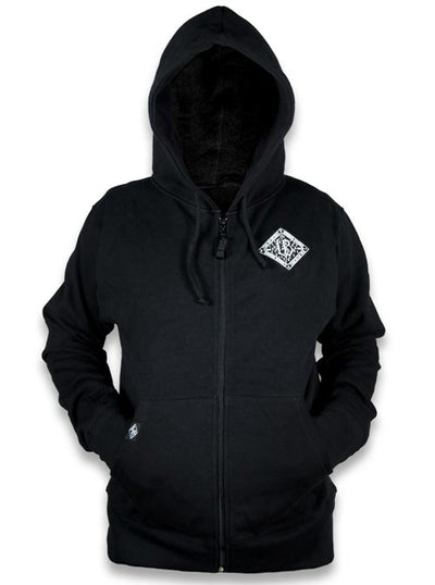 Men's F Bone Hoodie by Liquorbrand