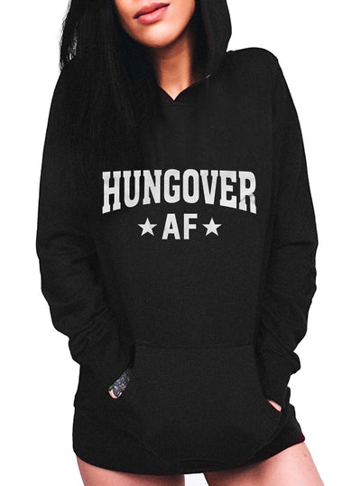 "Unisex ""Hungover AF"" Hoodie by The T-Shirt Whore (More Options)"