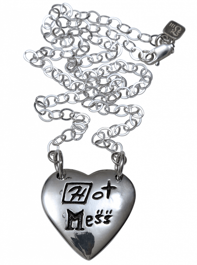 """Hot Mess"" Necklace by Femme Metale - www.inkedshop.com"