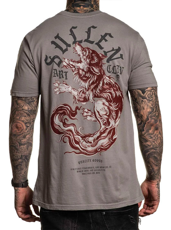 Men's Hounds Blood Tee by Sullen