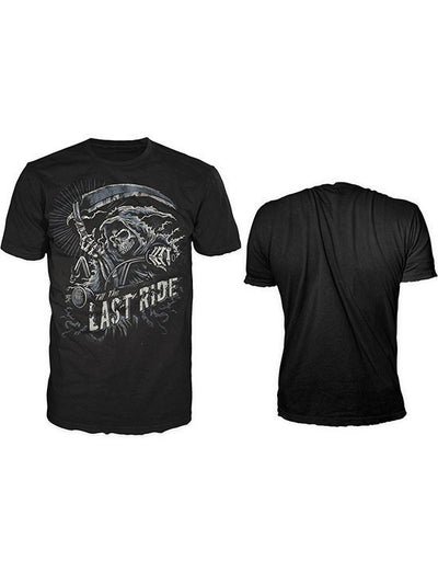 "Men's ""The Last Ride"" Tee by Lethal Threat (Black) - www.inkedshop.com"