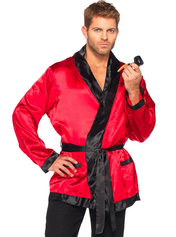 "Men's ""Smoking Jacket"" Costume by Leg Avenue (Red)"