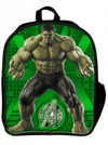 """Avengers: Hulk"" 3D Backpack by Marvel (Green) - www.inkedshop.com"
