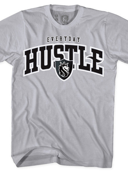 Men's Everyday Hustle Tee by OG Abel (Oakland Grey)