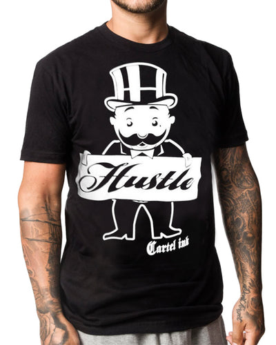 Men's Hustle Tee by Cartel Ink