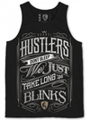 "Men's ""Hustlers Don't Sleep"" Tank by OG Abel (Black) - www.inkedshop.com"