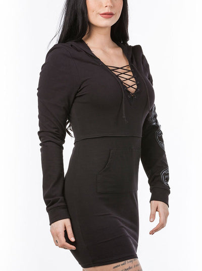 Women's The Hyde Park Hoodie Dress by Headrush Brand