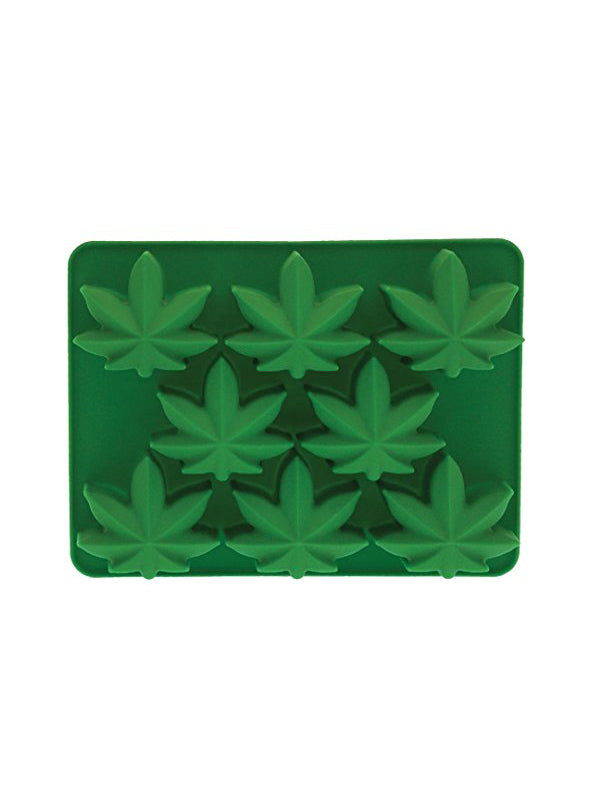 Marijuana Silicone Ice Cube Mold (Green)