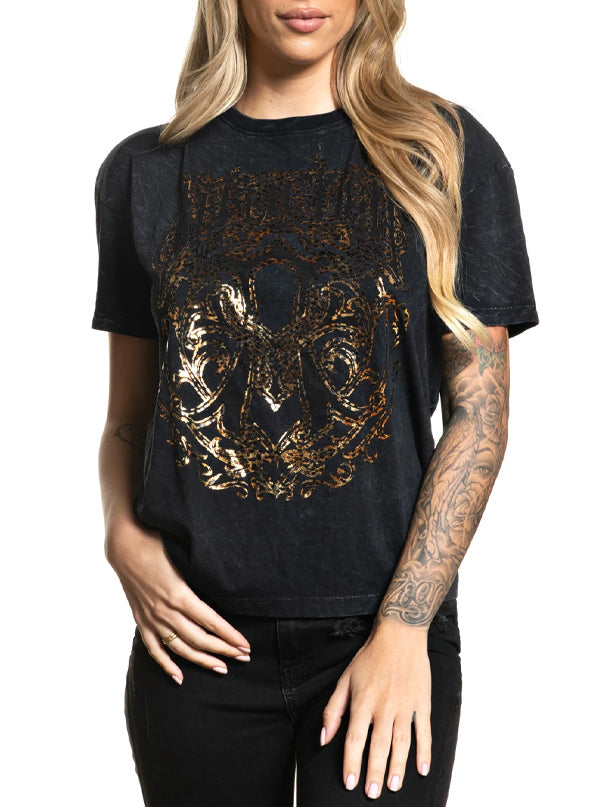 Women's Iconic Steel Tee by Affliction