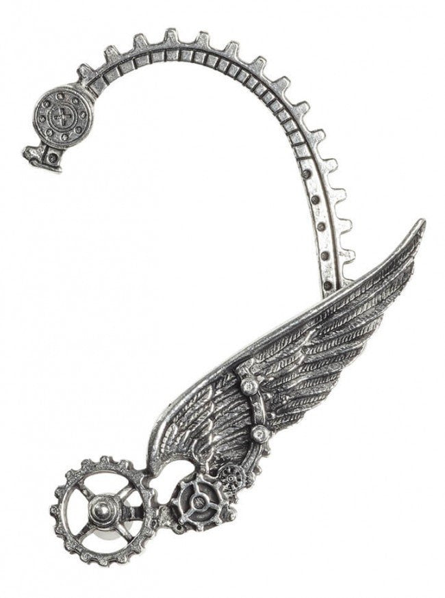 """Ikarus"" Ear Wrap by Alchemy of England (Pewter) - www.inkedshop.com"