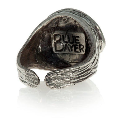 Human Evil-Eye Ring (Blue) by Blue Bayer Design - InkedShop - 4