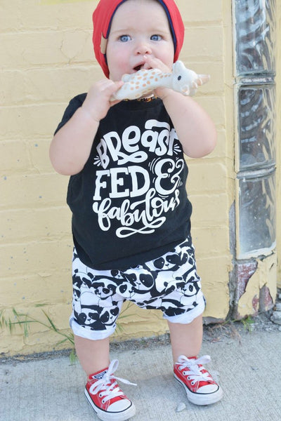 Kid's Breastfed and Fabulous Tee or Onesie