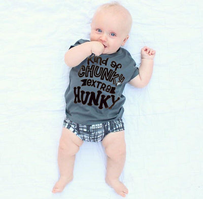 Kid's Kind of Chunky Extra Hunky Tee or Onesie