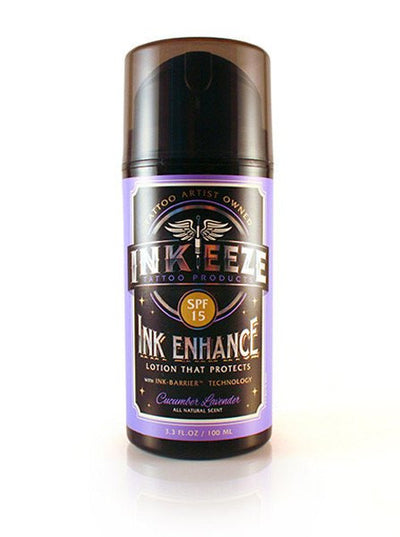 "Daily Moisturizer ""Ink Enhance SPF 15"" 3.3oz by INK-EEZE (More Options) - www.inkedshop.com"