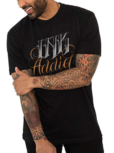 "Men's ""Cordaro Inkaddict"" Tee by InkAddict (Black)"