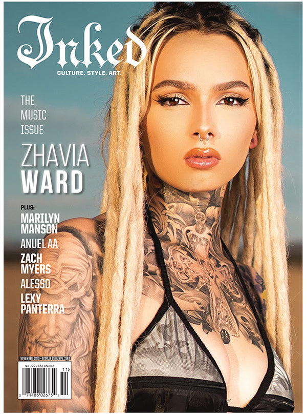 Inked Magazine: The Music Issue (2 Cover Options) - November 2020
