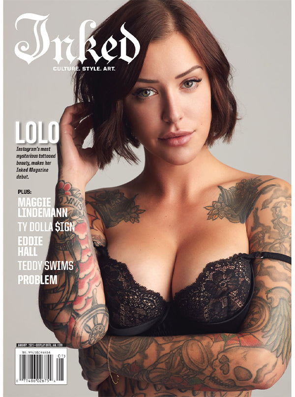Inked Magazine: Featuring Lolo - December/January 2021