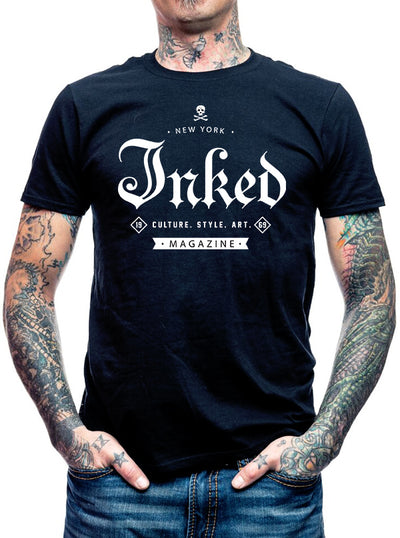 "Men's ""Inked Exclusive"" Tee by Inked (Black)"