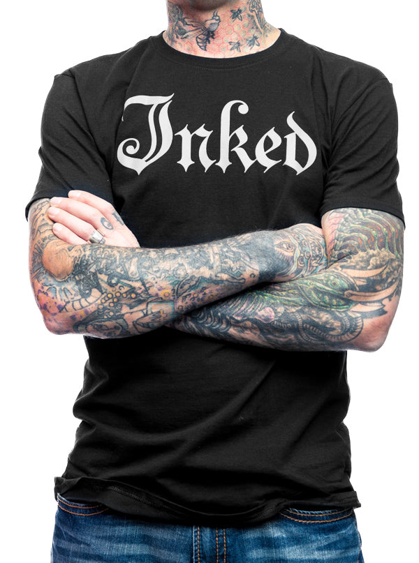 "Men's ""Logo"" Tee by Inked (More Options)"