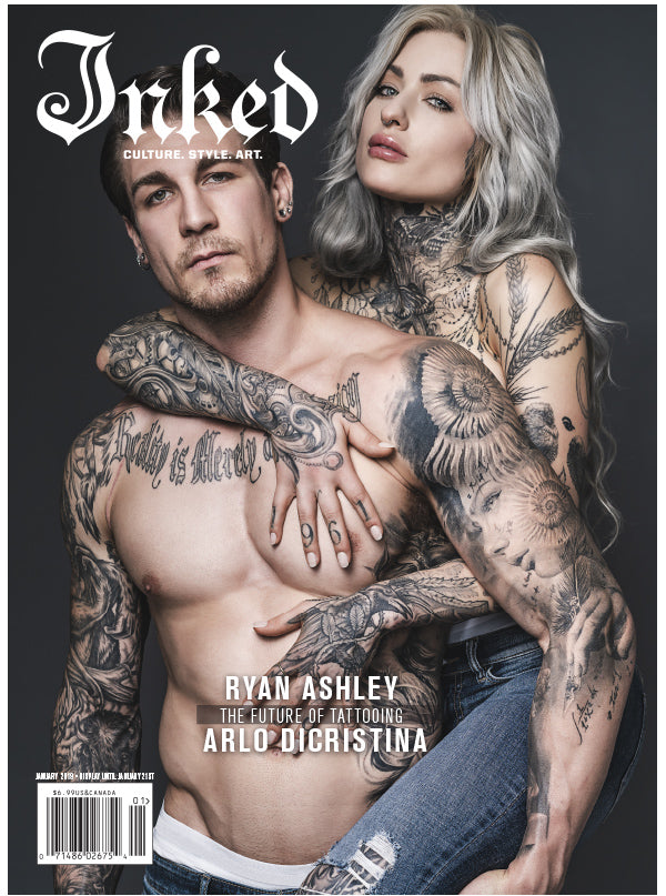Inked Magazine Art Issue Featuring Ryan Ashley & Arlo Dicristina ...
