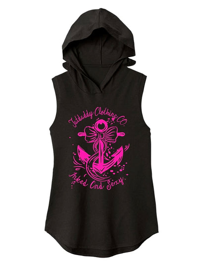 Women's Inked & Sexy Sleeveless Hoodie by Tat Daddy