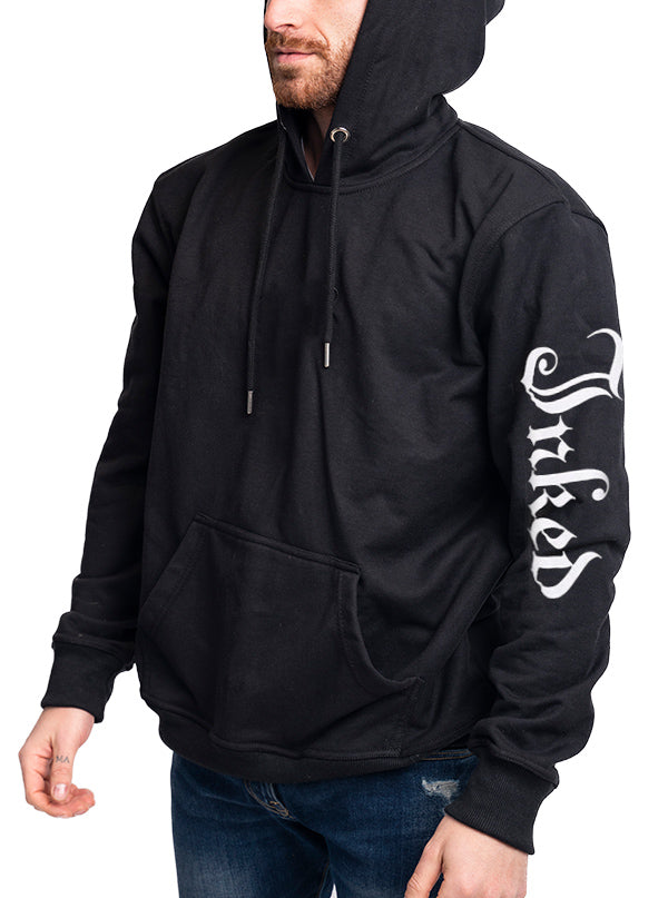 "Men's ""Inked Sleeve"" Hoodie by Inked (Black)"