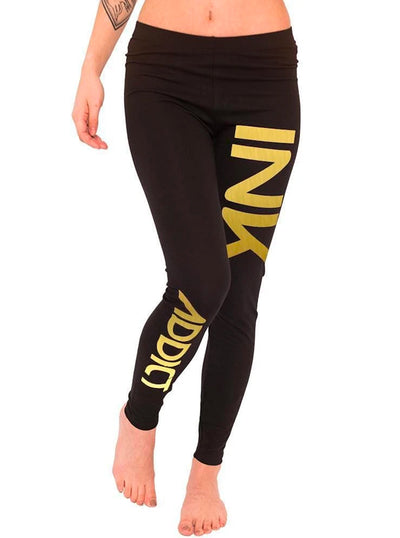 Women's Ink Metallic Foil Leggings by InkAddict