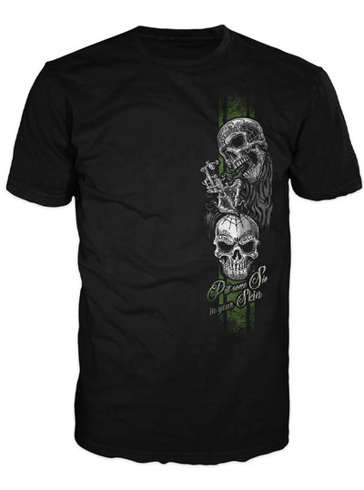 Men's In Ink We Trust Tee by Lethal Threat