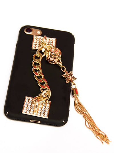 """Delilah"" iPhone Case (Black) - www.inkedshop.com"