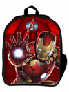"""Avengers: Iron Man"" 3D Backpack by Marvel (Red) - www.inkedshop.com"