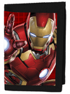 """Avengers: Iron Man"" Wallet by Marvel (Red) - www.inkedshop.com"
